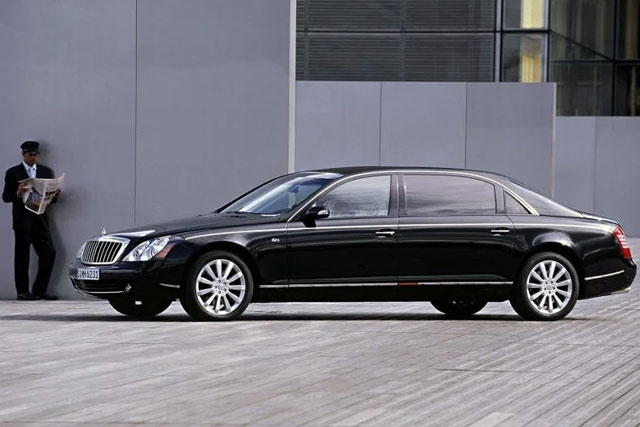 Maybach 62S with Armor from Rijck