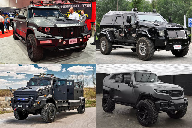 5 most expensive armored cars in the world