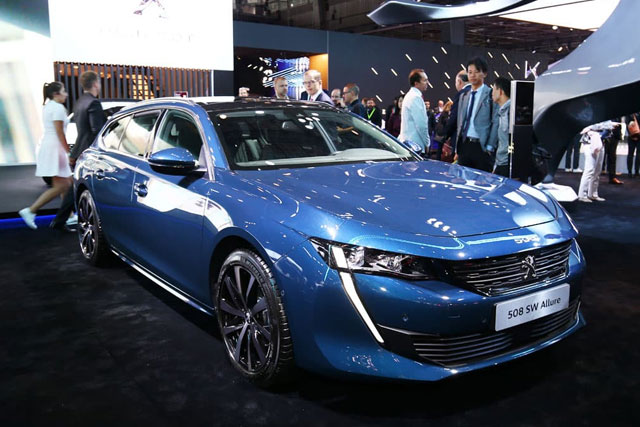 Peugeot 508 SW and PHEV