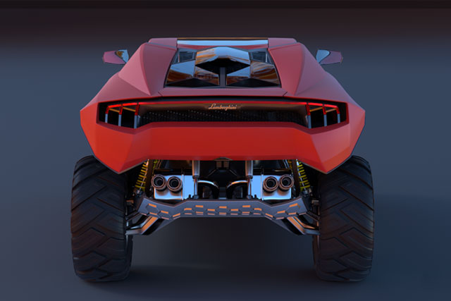 Back Side LM005 Concept Designs by Car Design News