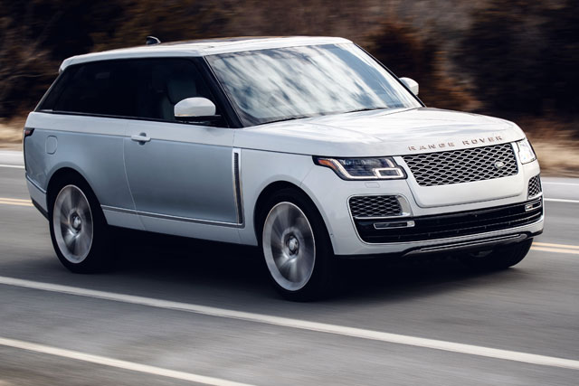 2019 Range Rover SV Coupe