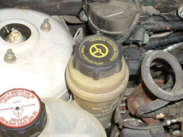 Low Power Steering Fluid in Your Car