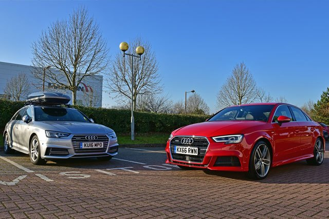 Audi A3 and A3 Saloon