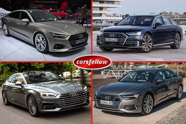 Audi UK Lineup
