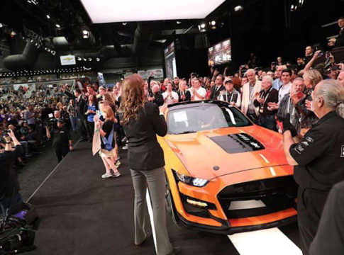Ford Mustang Shelby GT500 and The $1.1 Million Charity Bid