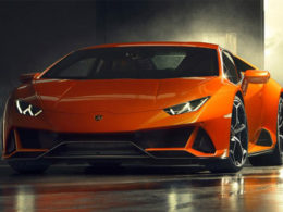 Lamborghini's Releases The Teaser Image of 2020 Huracan Evo