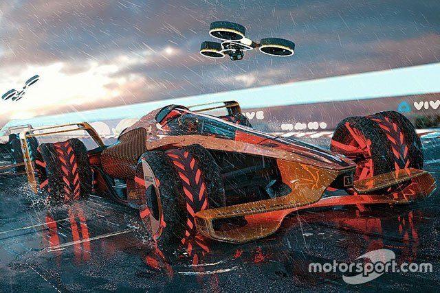 McLaren Applied Technologies Reveals Extreme 2050 Grand Prix Concept