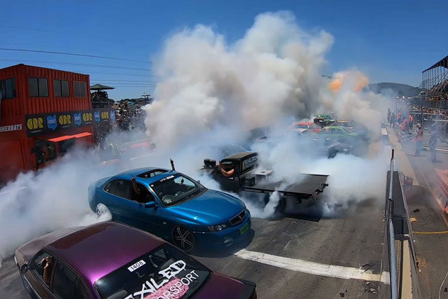 New Burnout Record