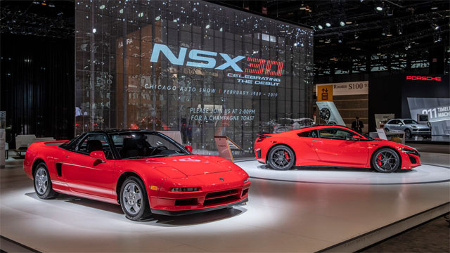 Acura NSX 30th Anniversary