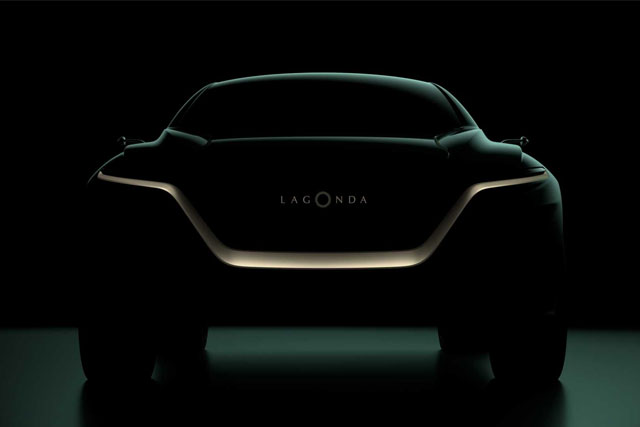 Aston Martin Teases Lagonda All-Terrain Concept Ahead Of Geneva Reveal