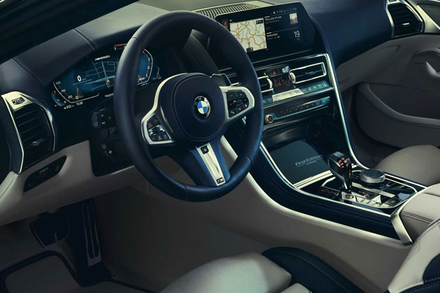 BMW 8 Series Interior Design