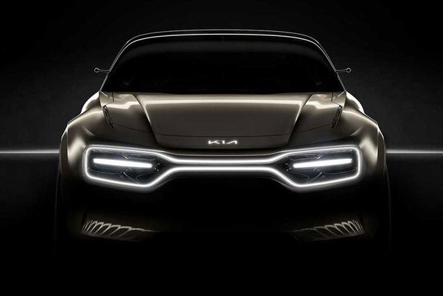 Kia Electric Car Teaser