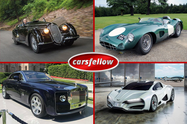 Most Expensive Cars in the World – Old And New
