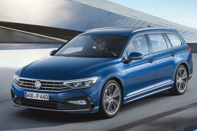 VW Passat Facelift