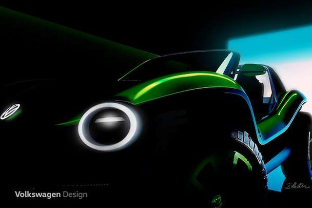 Volkswagen to Reveal Electric Dune Buggy Concept