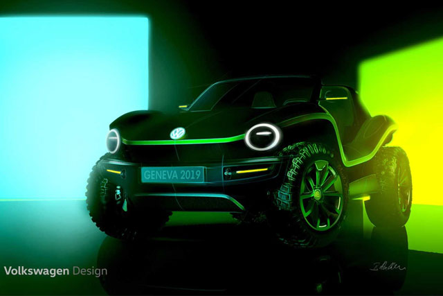 Volkswagen Reviving The Classic Beach Buggy As An Electric Concept