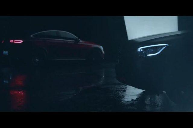 2020 Mercedes GLC Coupe Facelift Teased Again