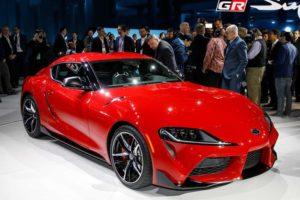 2020 Toyota Supra Red