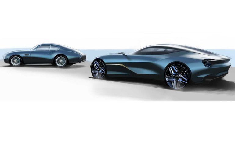 Aston Martin DB4 GT Zagato Continuation and DBS GT Zagato