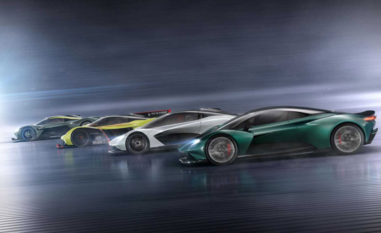 Aston Martin Mid-Engined Cars