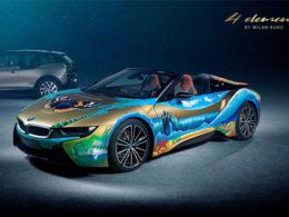 BMW i8 Roadster 4 Elements Art Car by Milan Kunc