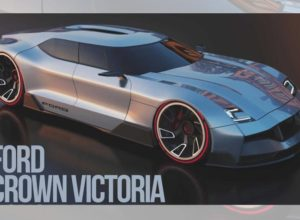 Ford Crown Gets A Futuristic Rendering