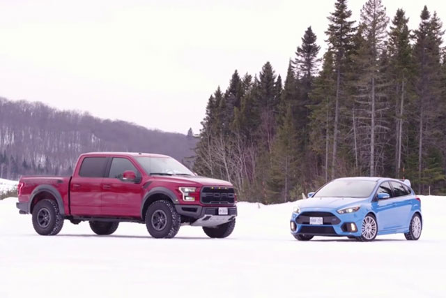 Ford Focus and F-150