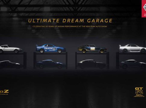 Nissan Teases New Cars - Nissan Celebrates Its 50th Anniversary With Ultimate Dream Garage