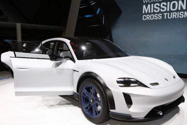 Porsche Taycan Crosses Turismo Been Confirmed For 2020 Launch