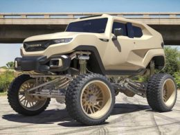 Rezvani Tank Gets An Uplifting Through Forgiato Wheels