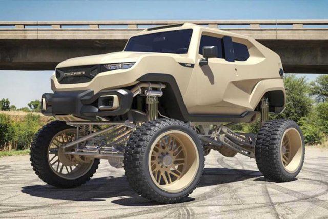 Rezvani Tank Gets An Uplifting Through Forgiato Wheels