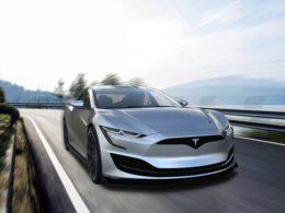 Tesla Model S Renders