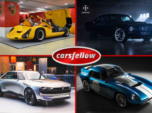 Top 10 New Electric Cars With Retro Designs