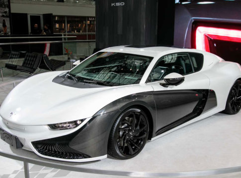 China's Qiantu K50 Electric Sports Car Confirmed For New York Auto Show