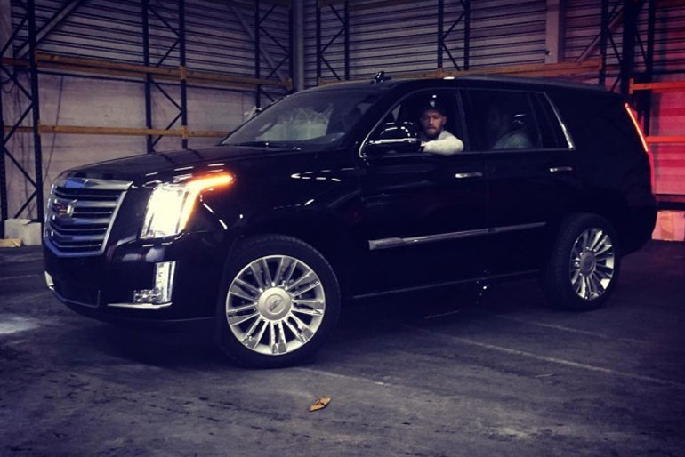 Conor McGregor Cadillac Escalade