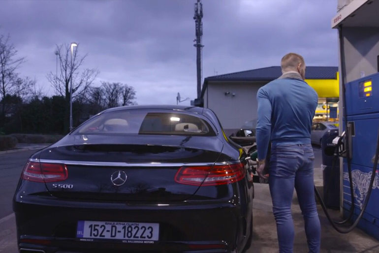 Conor McGregor Mercedes Benz S550 Coupe