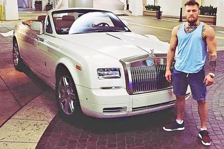 Conor McGregor Rolls-Royce Phantom Drophead Coupe