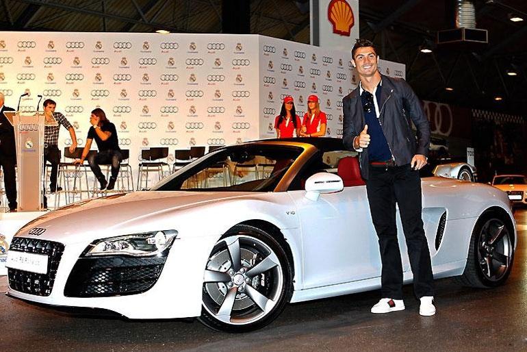 Cristiano Ronaldo Audi R8