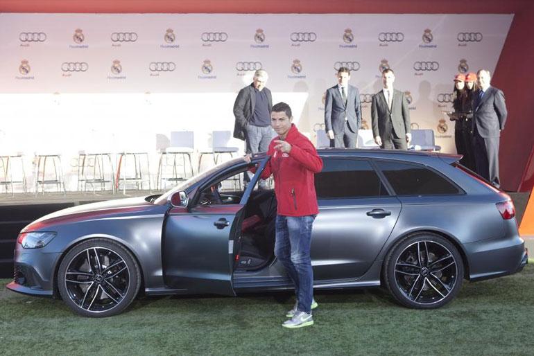 Cristiano Ronaldo Audi RS6