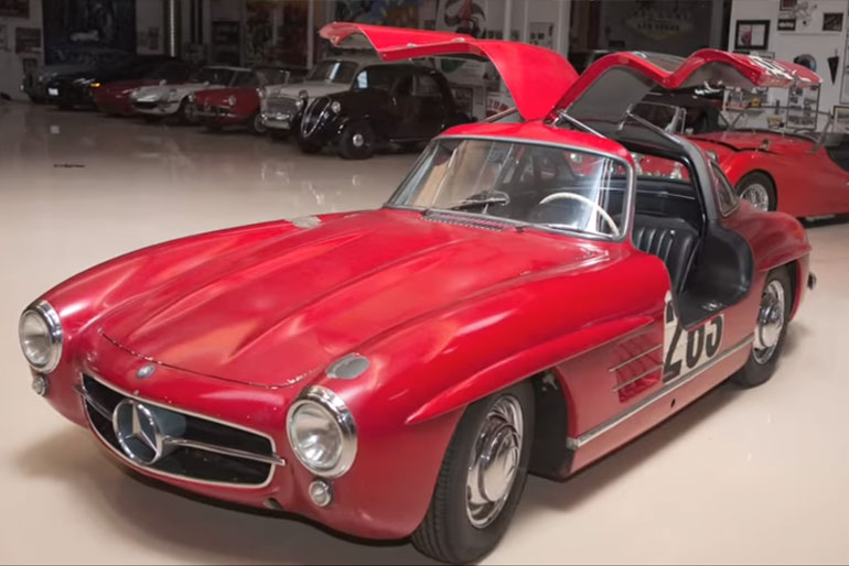 Jay Leno 1955 Mercedes 300SL Gullwing Coupe