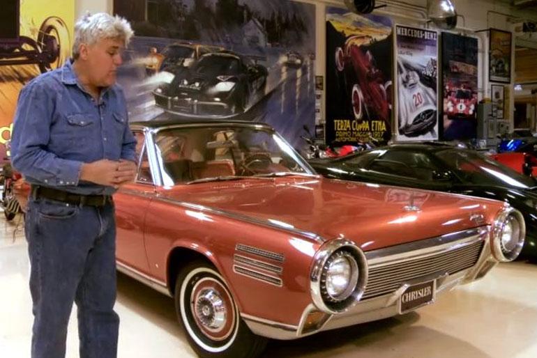 Jay Leno 1963 Chrysler Turbine Car
