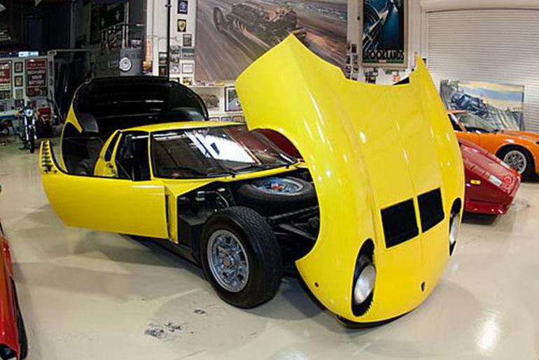 Jay Leno 1967 Lamborghini Miura P400