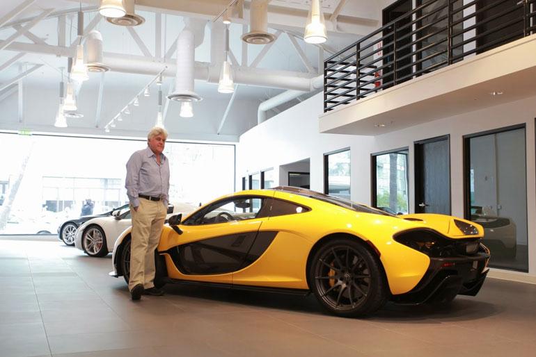 Jay Leno 2014 McLaren P1