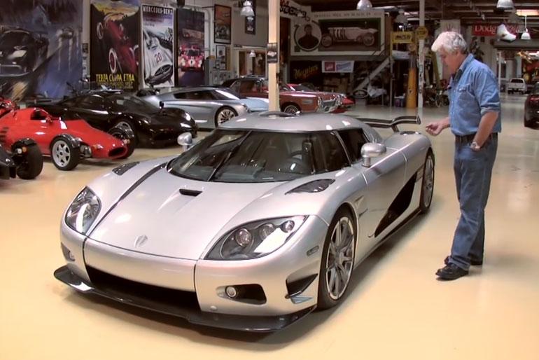 Jay Leno Koenigsegg CCXR Trevita
