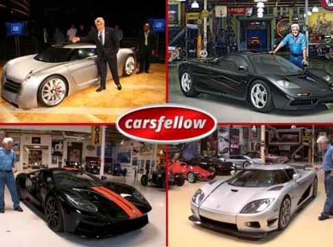 Jay Leno Car Garage - Jay Lenos Car Collection