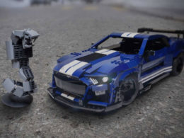 Lego Fan Builds Amazing 2020 Ford Shelby GT500