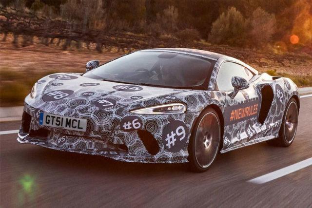 McLaren Grand Tourer Spotted