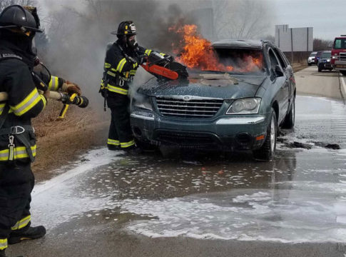 Woman Drives Used Car 20 Minutes Before It Goes Up In Flames