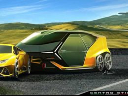 Lamborghini Laughingly Launch Camping Trailer For Huracan