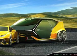 Lamborghini Laughingly Launch Camping Trailer For Huracan